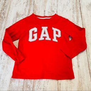 Gap kids red long sleeve